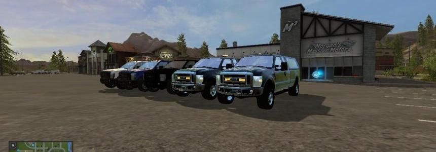 Ford pickups converted v1.0