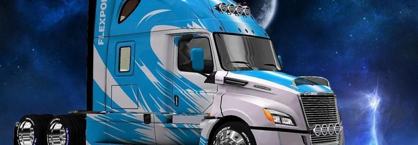 Freightliner Cascadia 2018 Flexport Skin