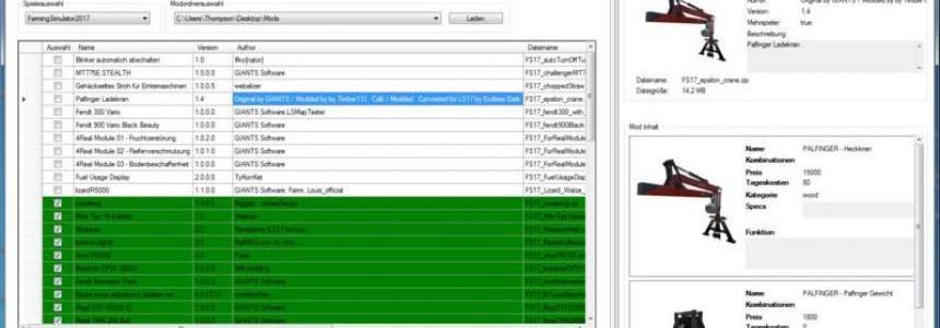 FS Mod Manager 5 v5.0.1.19