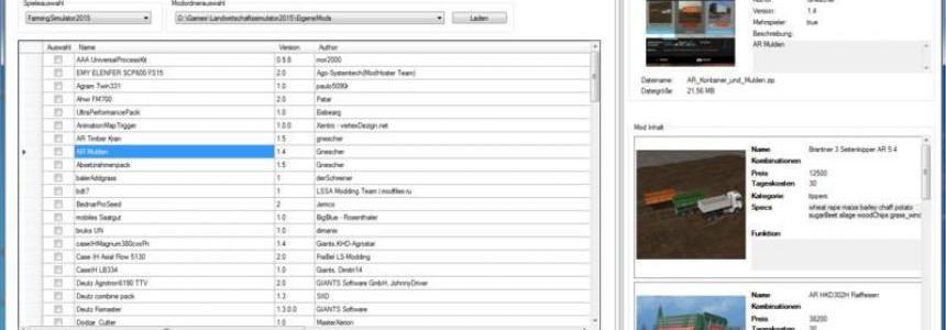 FS Mod Manager 5 v5.0.1.33