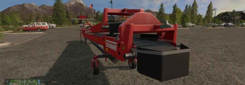 Grimme TC-8016 belt with faster Overloaded v1.0