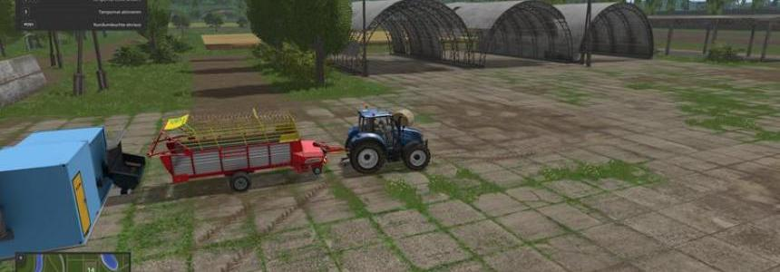 Heating plant for wood chips and silage v1.3.0.2