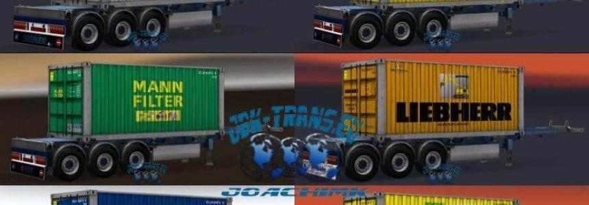 JBK Trailerpack 10 Containertrailer v1