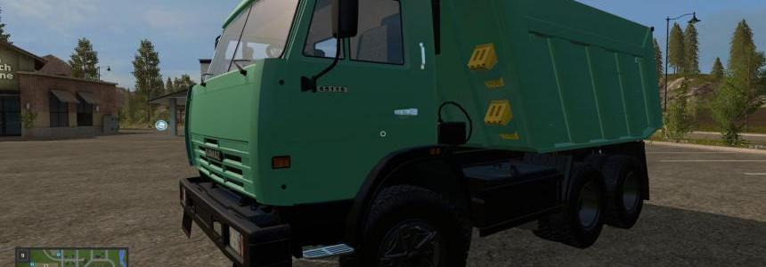 Kamaz 65115 + 4 TYPES OF WHEEL v1.0