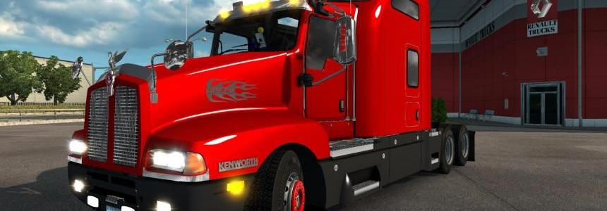 Kenworth T600 v1.0 Fixed for 1.26