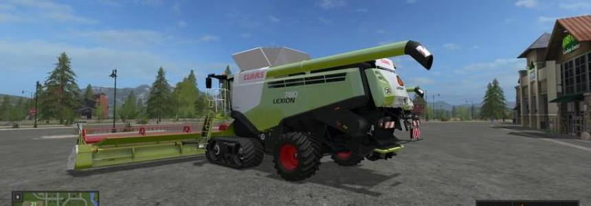 Lexion 780 TT standard and wide tires v1.0
