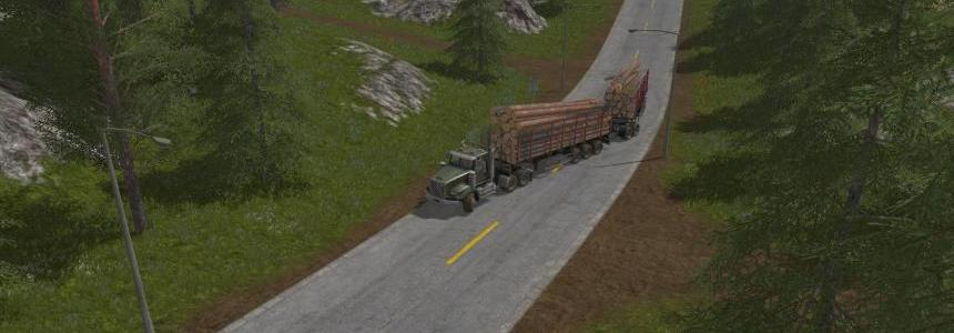 Lizard Log Truck Nokian Tires v1.0