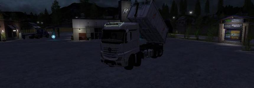 MB Actros 8x8 MP4 swap V1.0