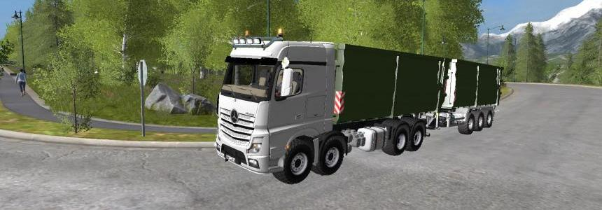 Mercedes Actros Mp4 It Runner v1.0
