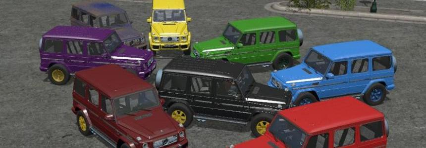 Mercedes-Benz G65 Multicolor v1.2