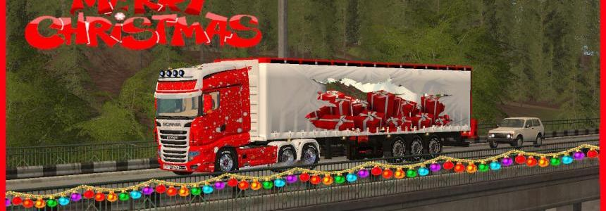 MERRY CHRISTMAS TRUCK TFSGROUP