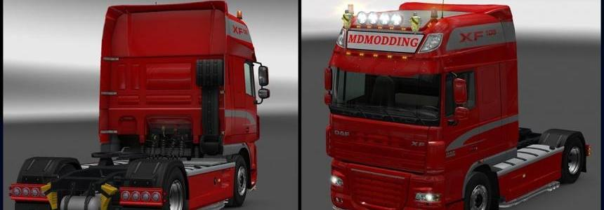 New Accessories for DAF XF 105 1.26.x - 1.26.2s