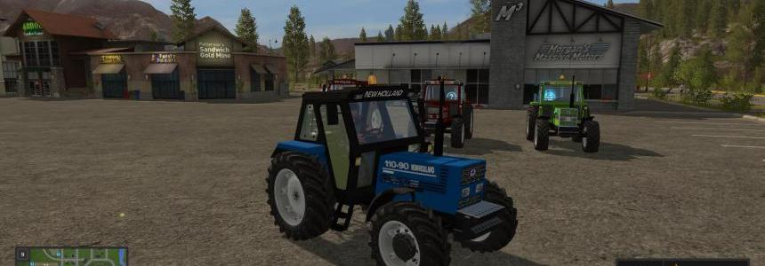 New Holland 110-90 Blue v1.0