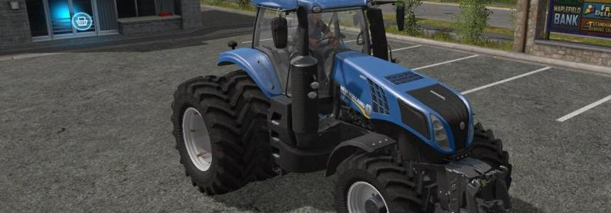New Holland T8 Dual Wheels v1.1