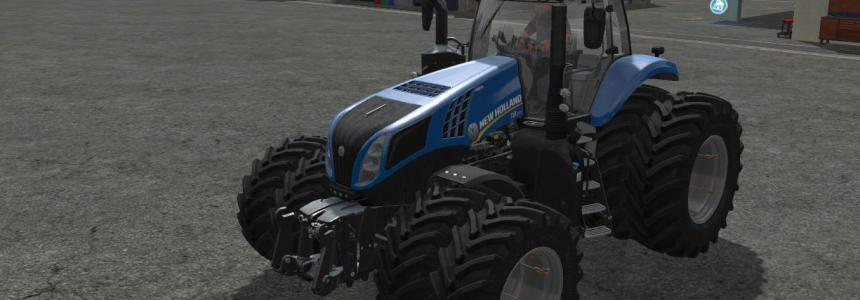 New Holland T8 Dual Wheels v1