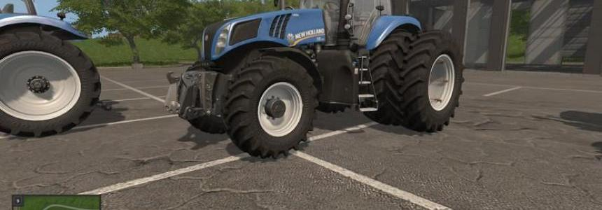 New Holland T8 Tuning v1.0