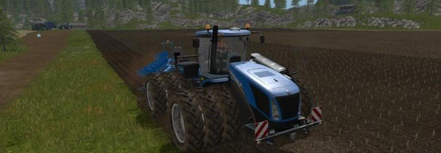 NH T9 with drilling tires v1.0 drillings maturation