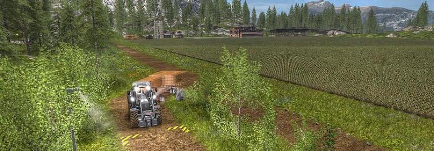 Norge Crest Valley 17 V1.4 Chopped Straw & animierte Tiertranken