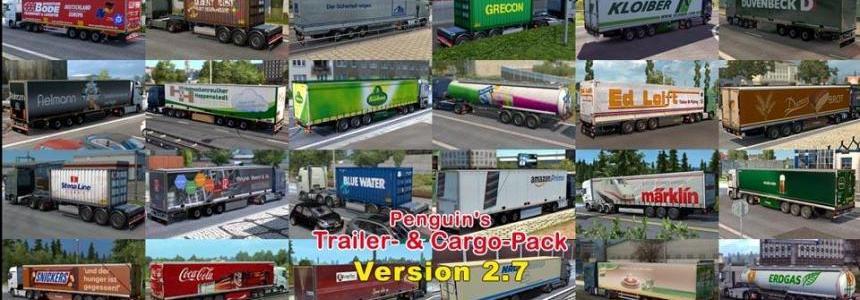 Penguins Trailer and CargoPack v2.7