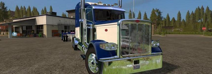 Peterbilt 388 and Manic Flatbed trailer v1.0