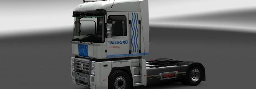 Renault Magnum Allegro skin v1