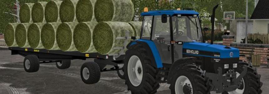 Robust Baletrailer pack AutoLoading v1