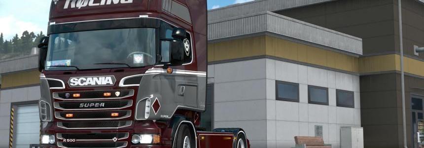 Rolinng skin for Scania RJL v1.0