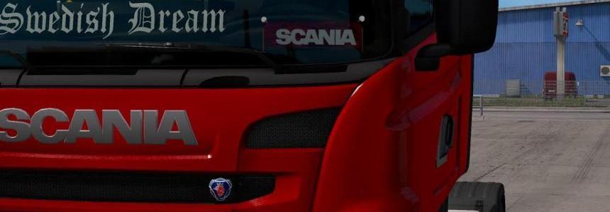 Scania Plate v1.0
