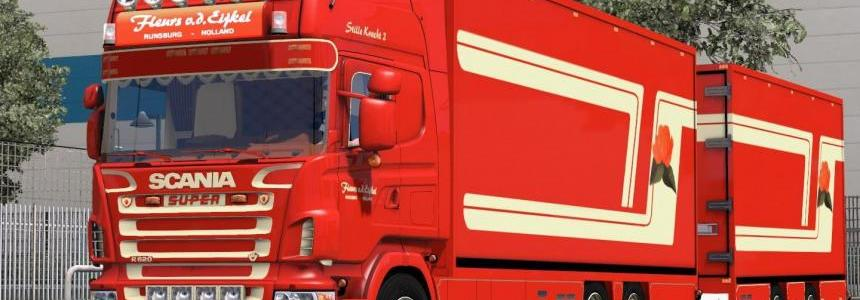 Scania R620 Fleurs Edition 1.26 v1.0