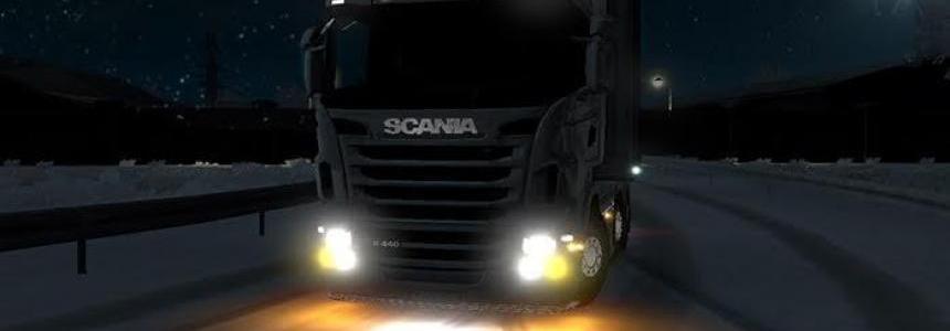 SCANIA RJL | Realist Fog Lamp | Winter v1.0