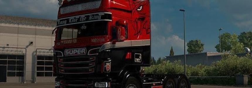 Scania RJL Super Vabis Skin