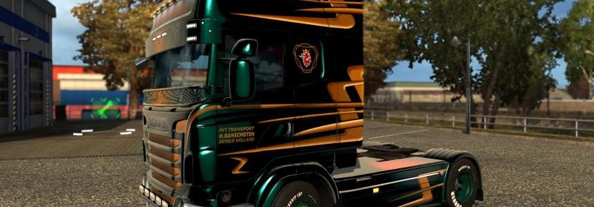 Scania R&S Topline H.Bunschoten skin 1.26