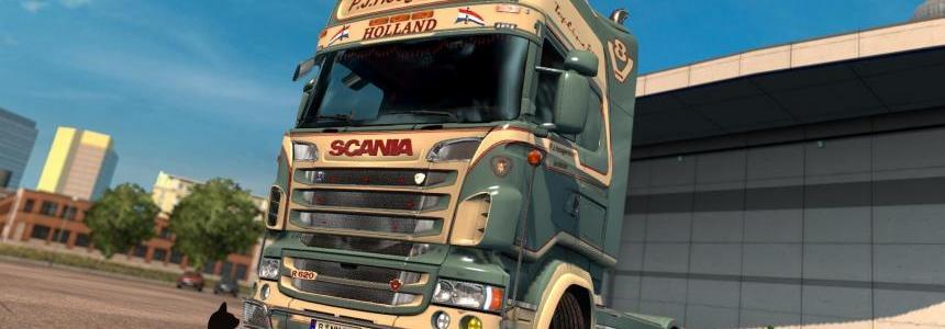 Scania R&S Topline  P.J.Hoogendoorn skin 1.26