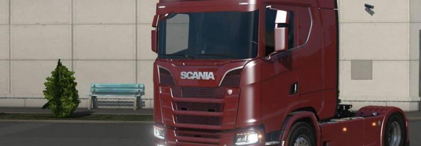 Scania S580 V8 v1.0
