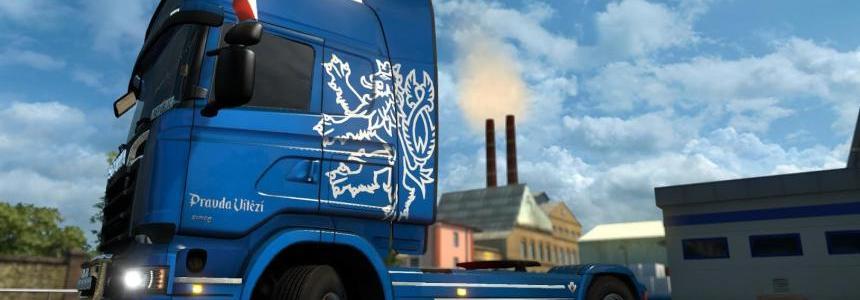 Scania Streamline Metallic Czech Skin v1.0