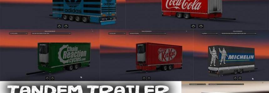 Tandem Trailers Pack v1.0