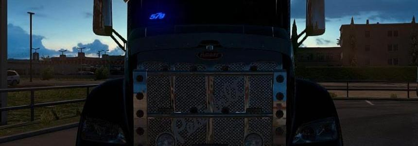 TomDooley's Pete 579 Enhanced for ATS v1.5 Update
