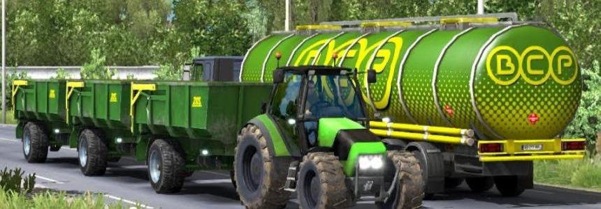 Tractor and Trailer with Sounds v1.0