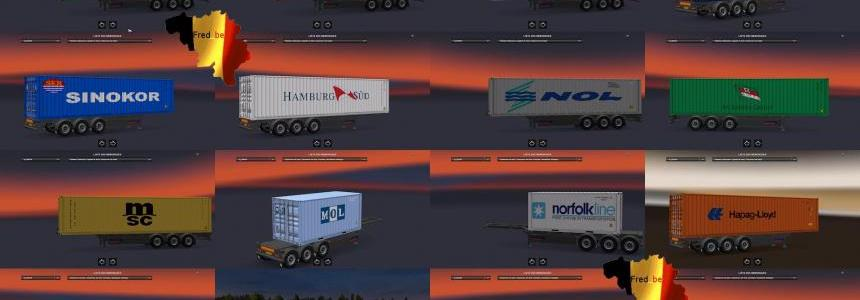 Trailer Pack Container #1 V1.26 [UPDATE for all DLC]