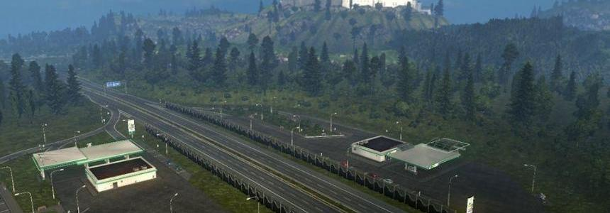 TruckSim Map v6.5 + addons