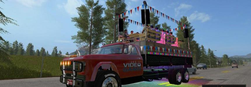 Video Gams Canada Party Truck v1