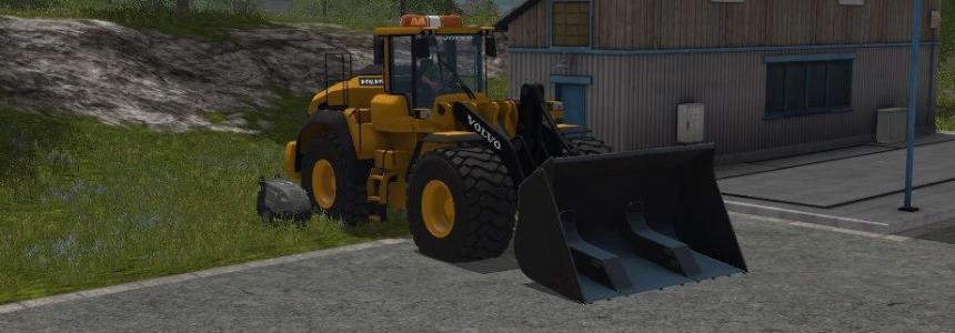 Volvo 220H Farming simulator 17 v1.0