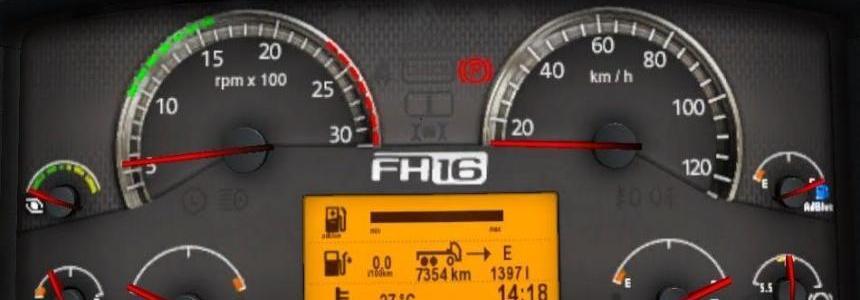 Volvo FH 2009 (Classic) Dashboard Computer