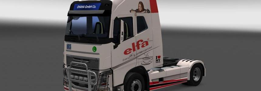 Volvo FH16 2013 (ohaha) Elfa skin v1