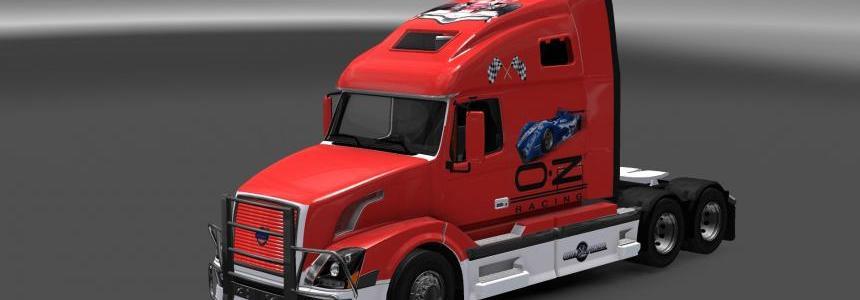 Volvo VNL 670 OZ Race Skin v1