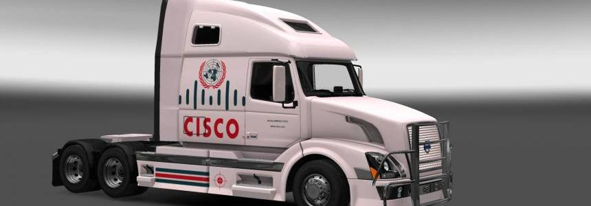 Volvo VNL670 Cisco Skin v1