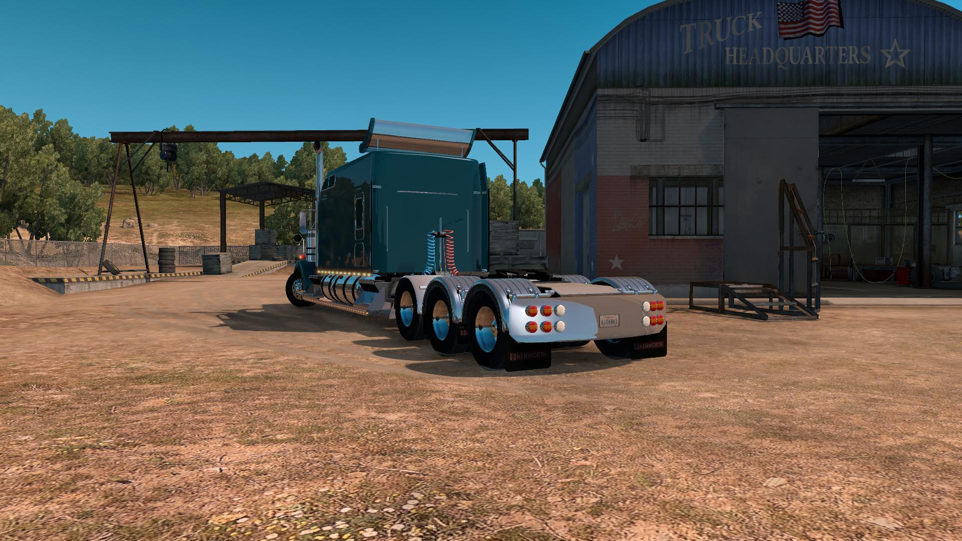 Kenworth W900B Long v1.0 for ATS (1.5)