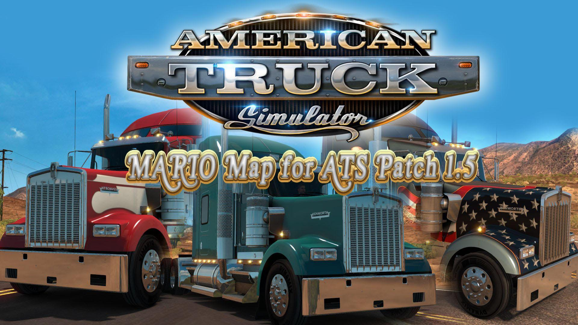 Mario ATS Map v1.5.2 for v1.5
