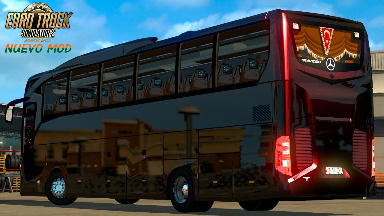 Download mod bus travego for ets 2 | ETS2 Mod New travego