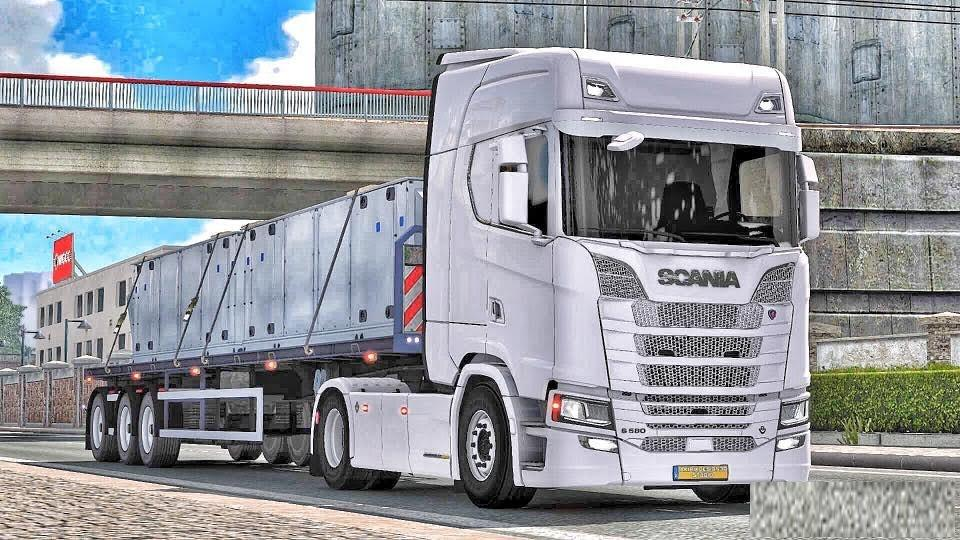 scania s series minor bugs fixed number plate. Black Bedroom Furniture Sets. Home Design Ideas